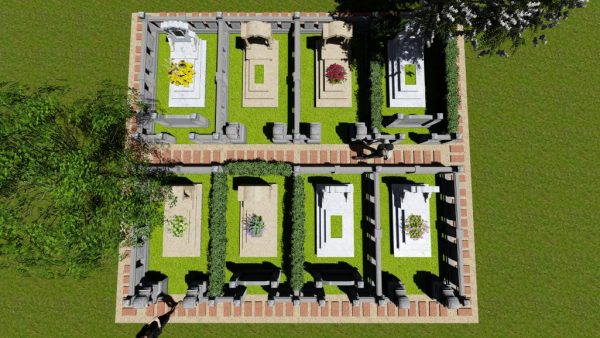 Mộ đơn cao cấp nghĩa trang bình định